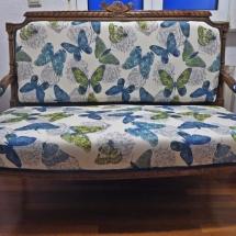 filigranes 20er Jahre Sofa