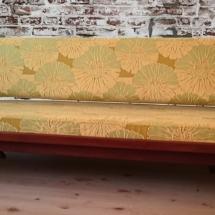 Teakholz 50er Sofa